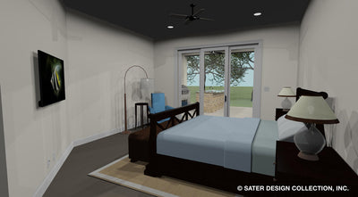 Emery House Plan guest bedroom #2