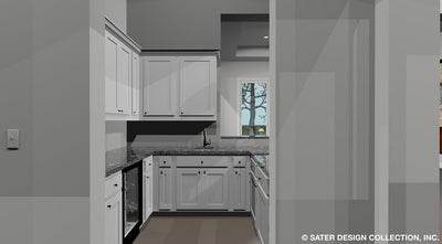 Emery House Plan Wet Bar