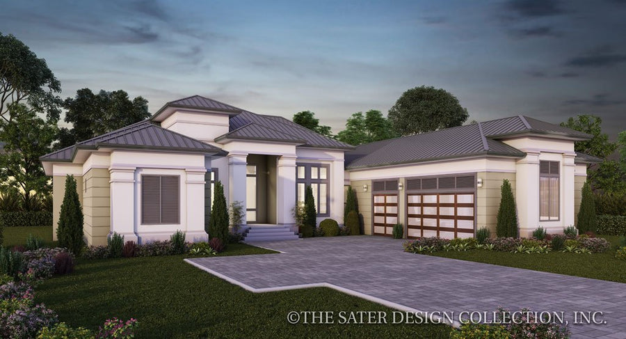 West Indies Caribbean Style Home Plans Sater Design Collection