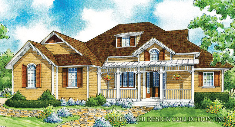 Riverwood-Front Elevation-Plan #7001