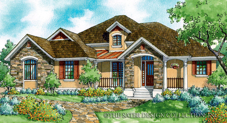 Heron Creek-Front Elevation-Plan #7002