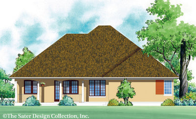 Heron Creek-Rear Elevation-Plan #7002