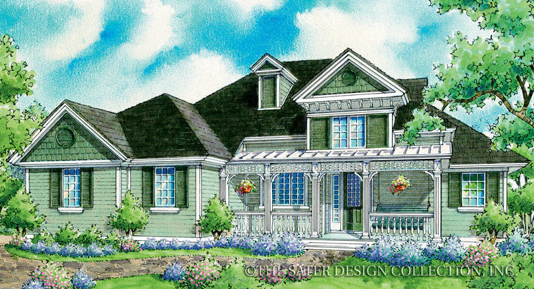 Mallard Ridge-Front Elevation-Plan #7003