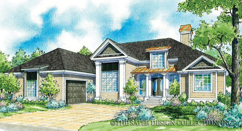 Ashton Oaks-Front Elevation-Plan #7004
