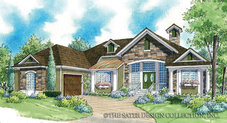 Marcella-Front Elevation-Plan #7005