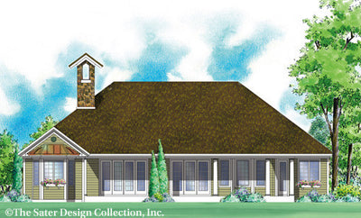Marcella-Rear Elevation-Plan #7005