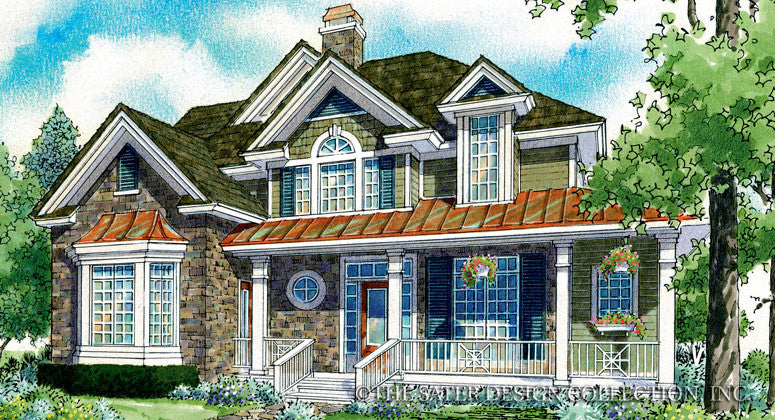 Allegra-Front Elevation-Plan #7008