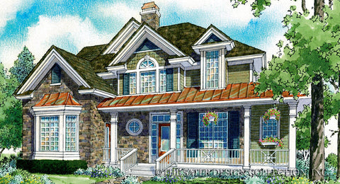 French Country House Plans | Sater Design Collection | Home Plans