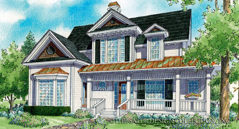 La Roux-Front Elevation Render-Plan #7009
