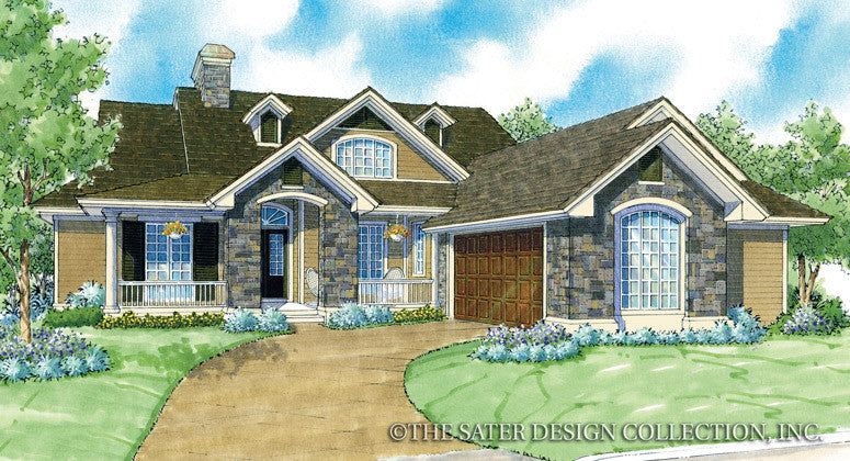 Chantel-Front Elevation-Plan #7011