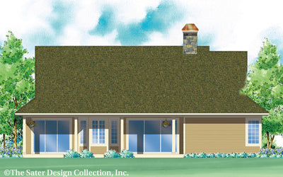 Chantel-Rear Elevation-Plan #7011