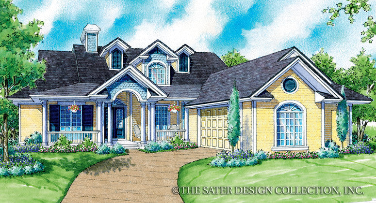 Magnolia-Front Elevation-Plan #7012