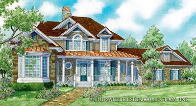 Aveline-Front Elevation-Plan #7014