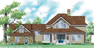 Aveline-Rear Elevation-Plan #7014