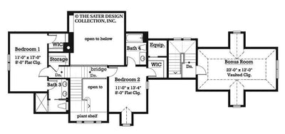 Aveline-Upper Level Floor Plan-#7014