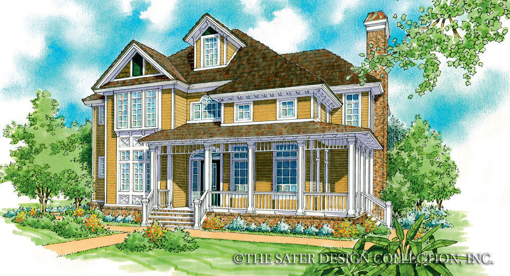 Kenton Farms-Front Elevation-Plan #7016