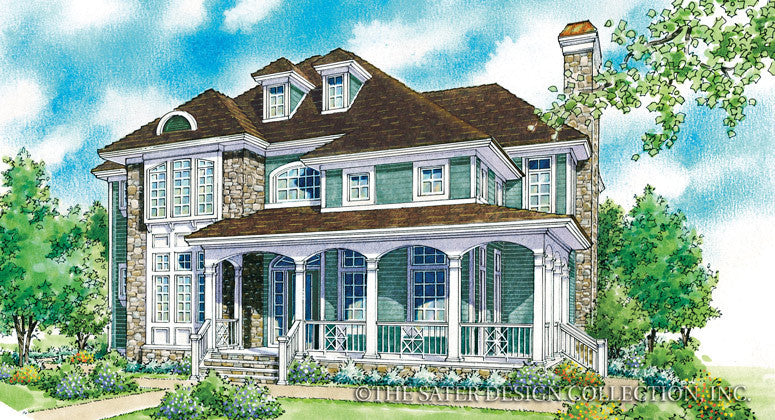 Sidonia-Front Elevation-Plan #7017