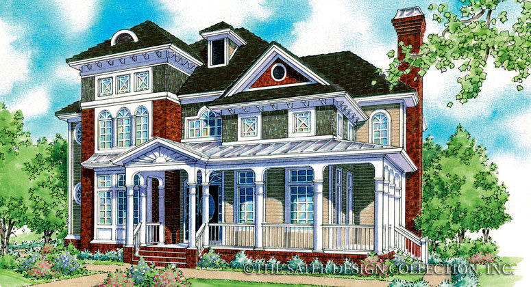 Maravella-Front Elevation-Plan #7018