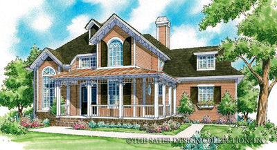 Jasper-Front Elevation-Plan #7019