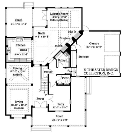 Jasper-Main Level Floor Plan-#7019