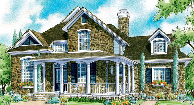 Sorrell Grove-Front Elevation-Plan #7020