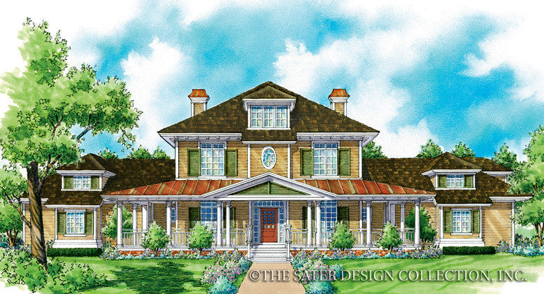 Jefferson-Front Elevation-Plan #7022