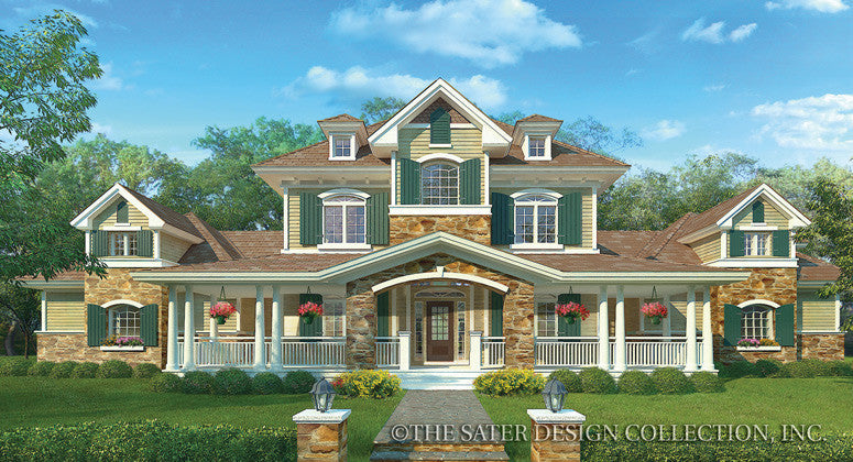 Ansel Arbor-Front Elevation-Plan #7023