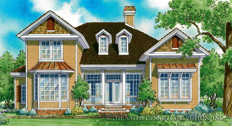 Bricewood-Front Elevation-Plan #7025