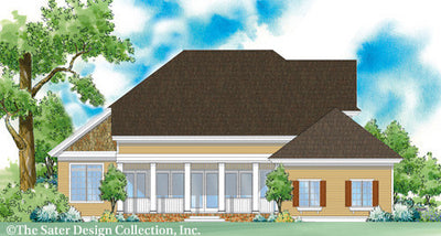 Bricewood-Rear Elevation-Plan #7025