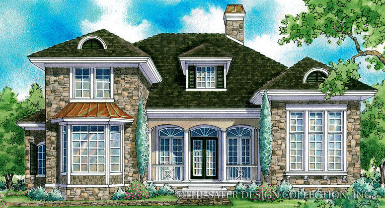 Julian Home - Front Elevation Render Image -Plan #7026