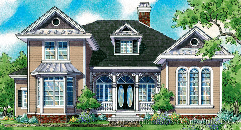 Ashley-Front Elevation-Plan #7027