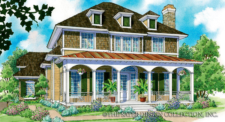 Charissa-Front Elevation-Plan #7029