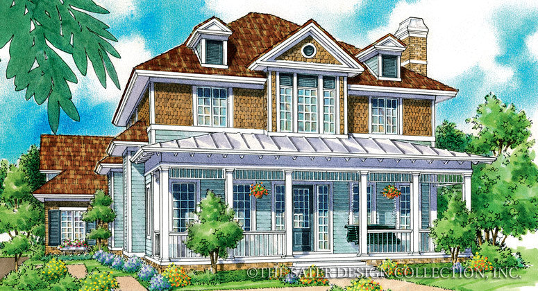 Orlina-Front Elevation Render Image-Plan #7030
