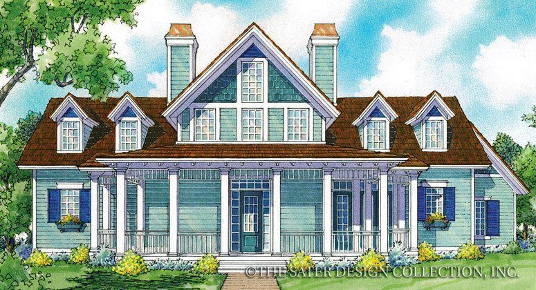 Holbrook Front Elevation Render - Plan #7031