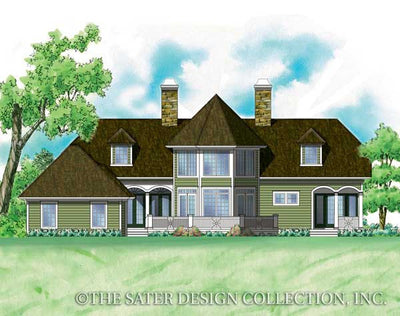 Merchan-Rear Elevation-Plan #7032