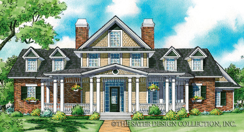 Brantley Pines-Front Elevation-Plan #7033