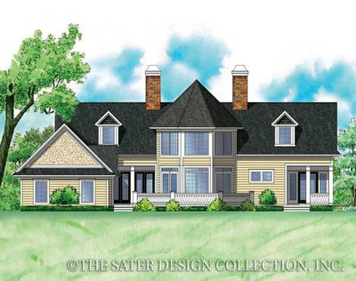 Brantley Pines-Rear Elevation-Plan #7033