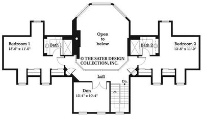Brantley Pines- Upper Level Floor Plan -#7033