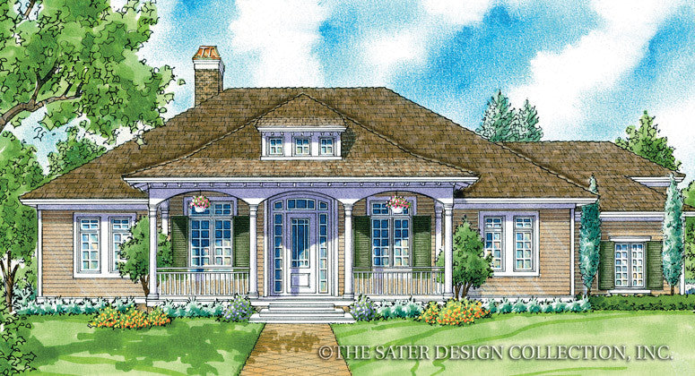 Somerville-Front Elevation-Plan #7034