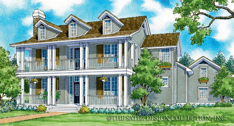 Langford-Front Elevation-Plan #7037