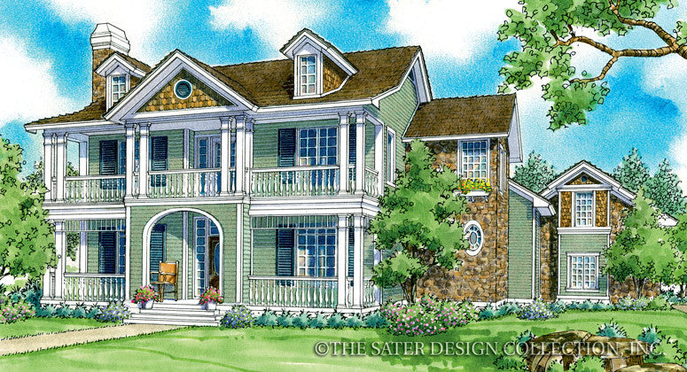 Chilton Hills-Front Elevation-Plan #7039