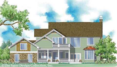 Home Plan Chilton Hills Sater Design Collection