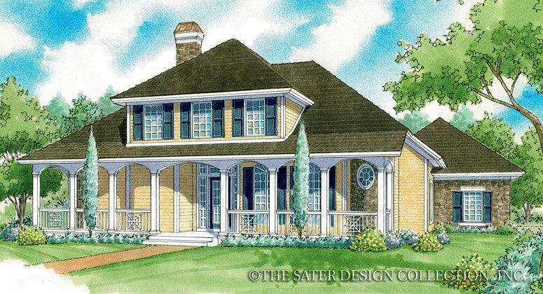 Diamanta-Front Elevation-Plan #7041