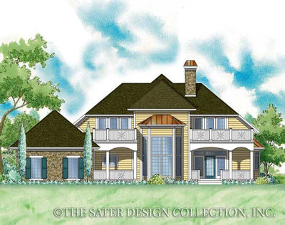 Diamanta-Rear Elevation-Plan #7041
