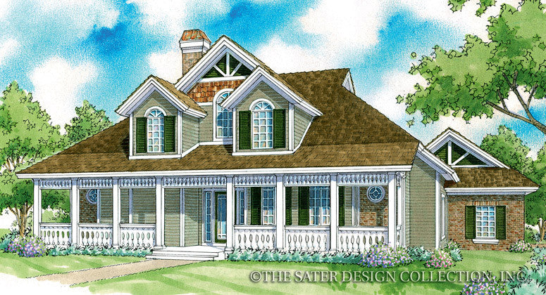 Meadowsbrook-Front Elevation-Plan #7042