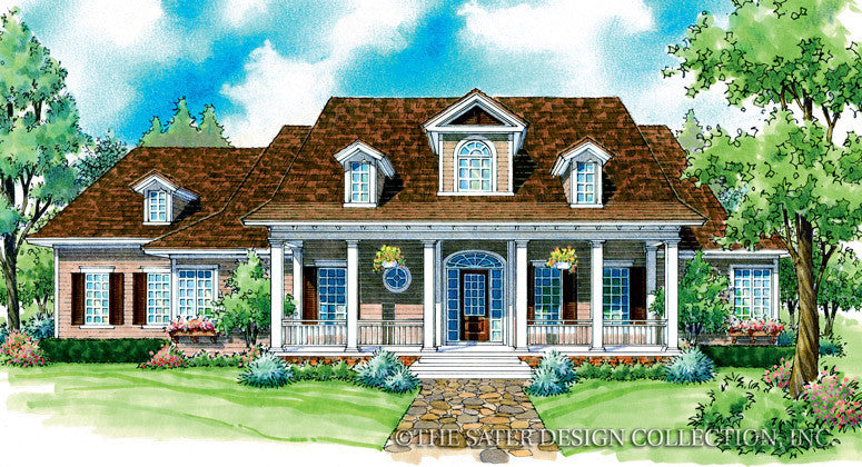 Deerwood-Front Elevation-Plan #7043