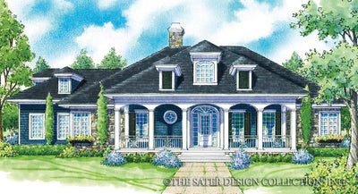Crescent Somer-Front Elevation-Plan #7044
