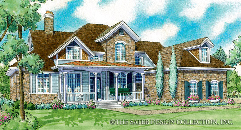 Nadine-Front Elevation Render Image-Plan #7047
