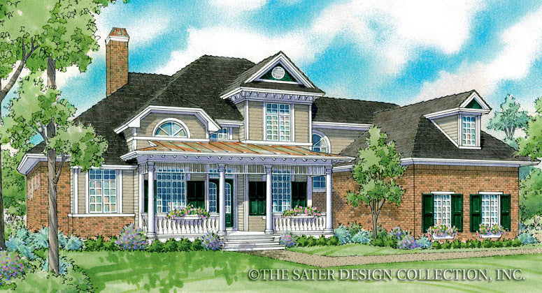 Wilona-Front Elevation-Plan #7048