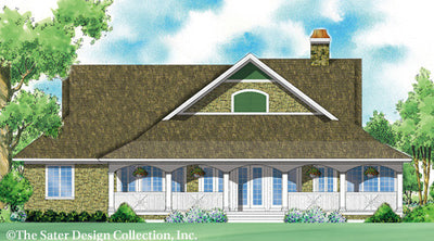 Lunden Valley-Rear Elev Rendering-Plan 7050